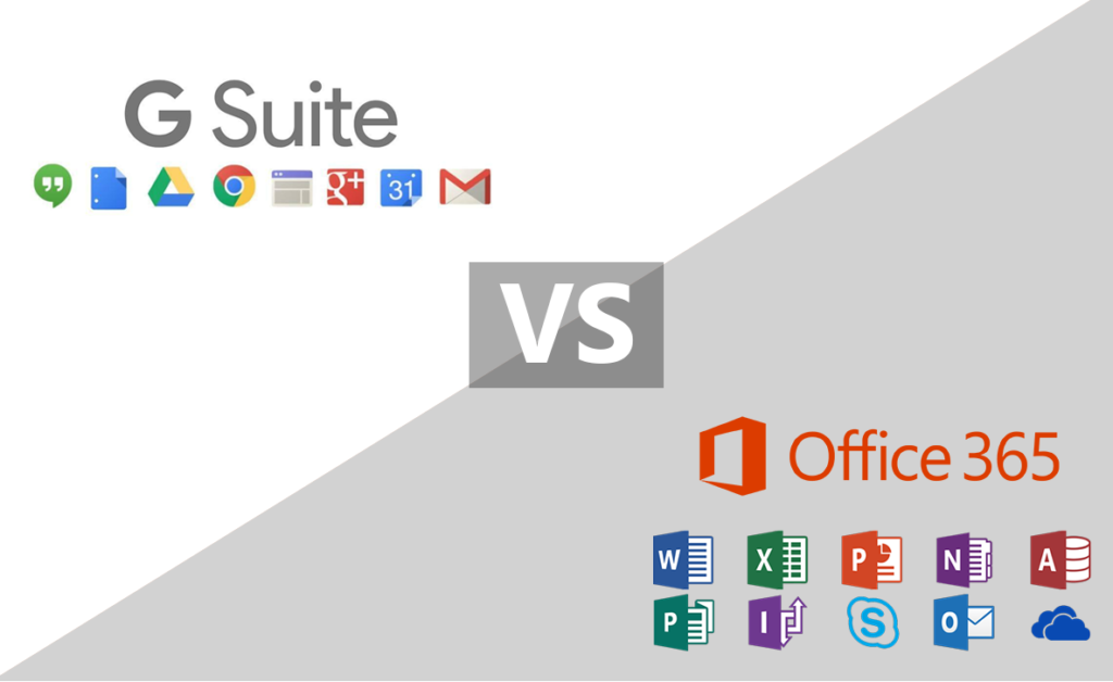 Office 365 vs G Suite – biurowy dylemat