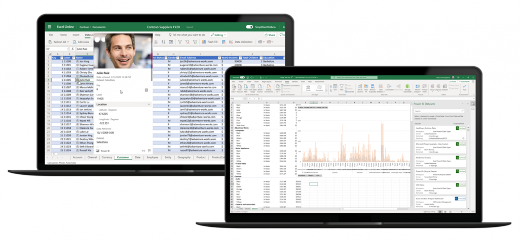 Power BI Excel